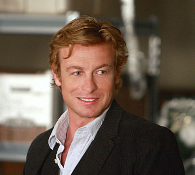 Simon smiles on The Mentalist