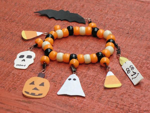Boo-tiful Halloween bracelet