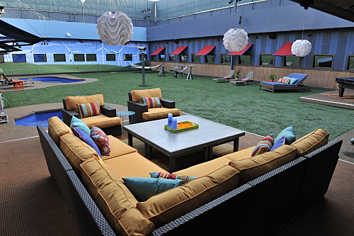 The expansive pad that is the Big Brother 11 house