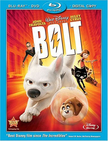 Bolt: out now on DVD and Blu-ray