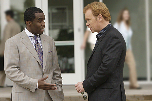 Sean Combs visits CSI: Miami and flexes his acting muscles