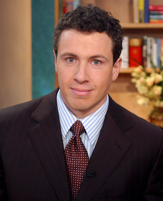 Chris Cuomo bags are always packed