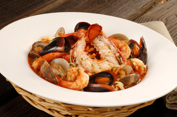 Seafood Cioppino - Seafood Stew