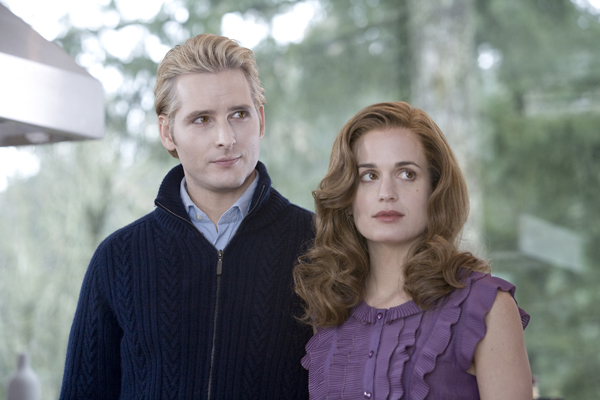 Peter Facinelli and Elizabeth Reaser see the future in Edward