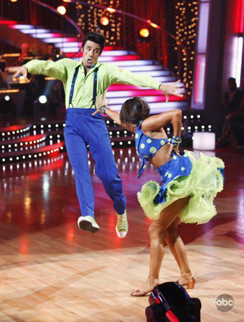 Gilles jumps on Dancing with the Stars