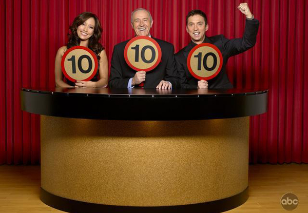 The Dancing with the Stars judges are ready to score