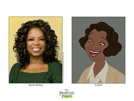 Oprah Winfrey is Eudora in Disney's The Princess and The Frog
