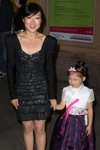 Euna Lee and her daughter soak in the Glamour spotlight