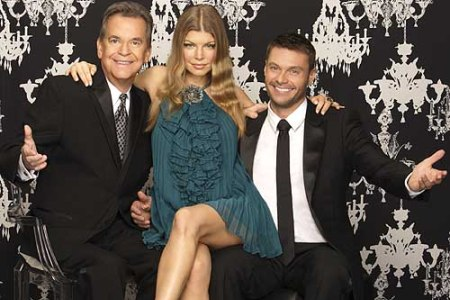 Fergie joins Dick Clark and Ryan Seacrest for New Year's Rock' Eve