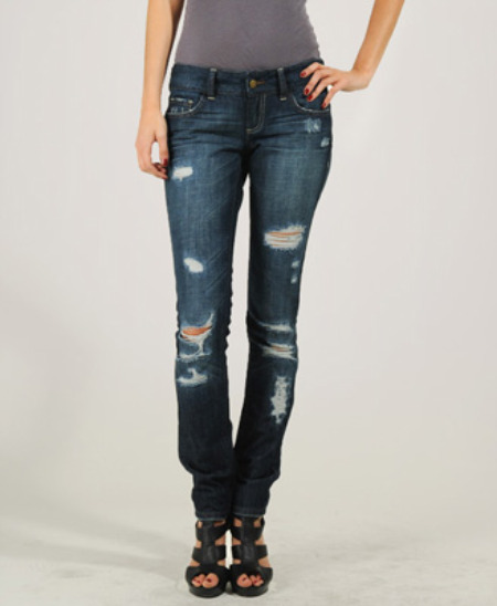 Forever 21 ripped jeans
