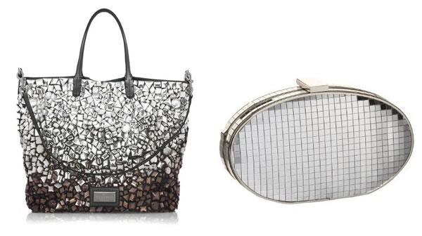 jewel studded carryalls