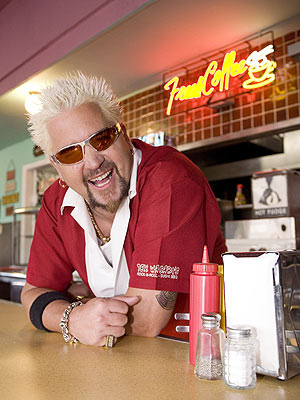 Guy Fieri is cooking this year on Food Network