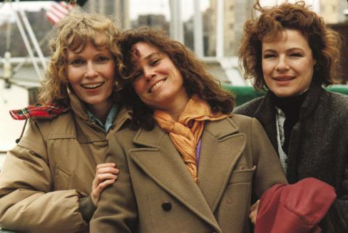 Mia Farrow, Barbara Hershey and Diane Wiest are Hannah and her Sisters