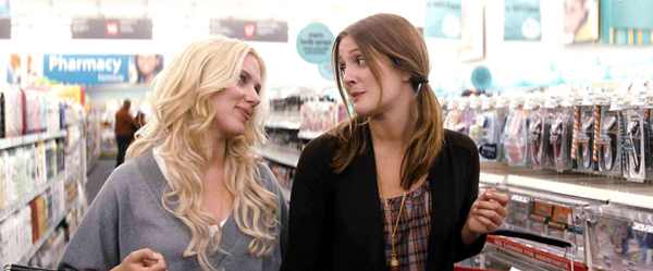 Scarlett Johannson and Drew Barrymore in He's Just Not That Into You