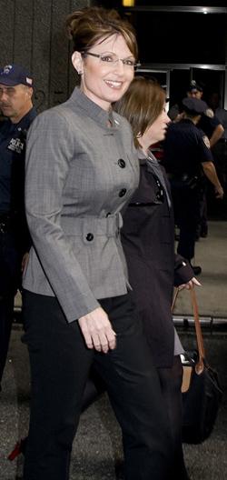 Sarah Palin's power suits