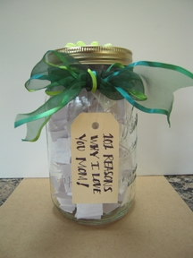 Homemade gifts from kids