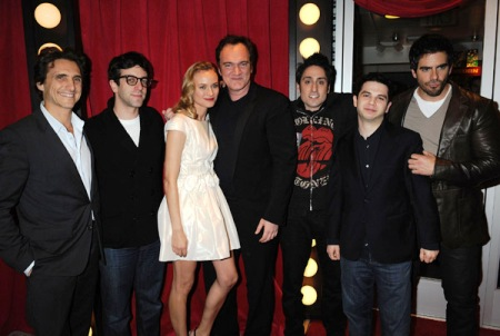 Inglourious Basterds cast gathers for SheKnows