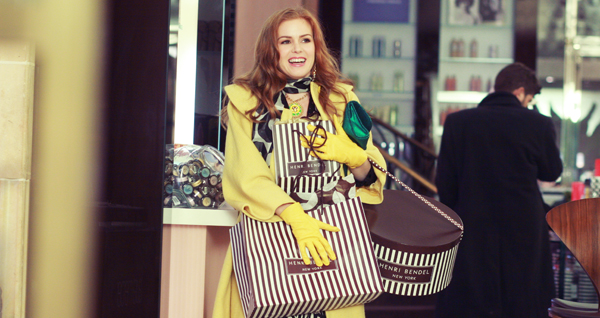 Isla Fisher gets a deal in Confessions of a Shopaholic