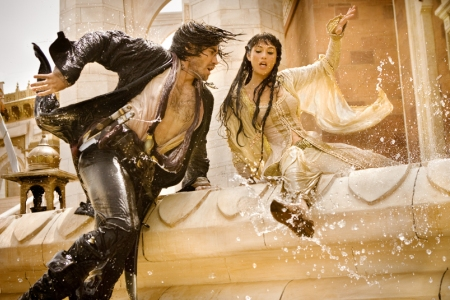 gemma arterton prince of persia. Jake and Gemma run for their