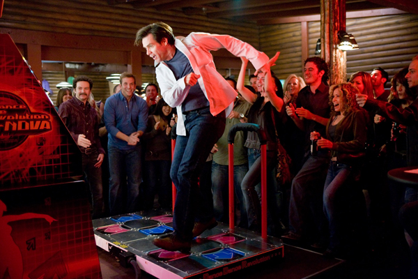 Jim Carrey Dance Dance Revolution! The beauty of Yes Man is that as his ...