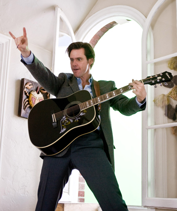 Jim Carrey is ready to rock