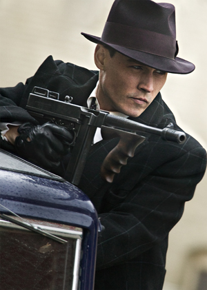 Johnny Depp as John Dillinger