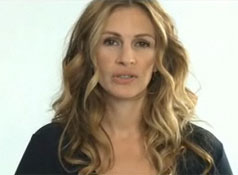 Julia Roberts asks you to vote