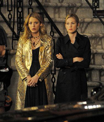 Gossip Girl's Blake Lively and Kelly Rutherford