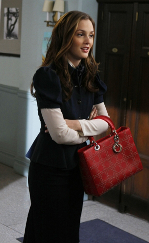 Leighton Meester gets it done on Gossip Girl