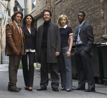 The cast of Leverage is ready for their TNT close-up