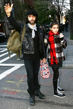 Madonna's ex, Carlos Leon and their daughter Lourdes