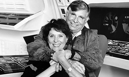Majel and Gene Roddenberry