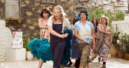 Mamma Mia extras