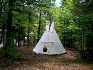 Manitoulin Island Tipi