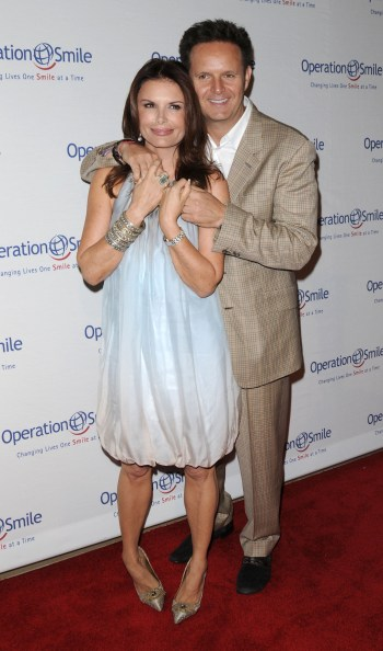 Mark Burnett and his wife Roma Downey