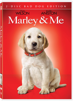 Marley & Me premieres on DVD March 31