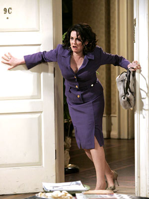 Megan always stormed in and stole scenes on Will & Grace