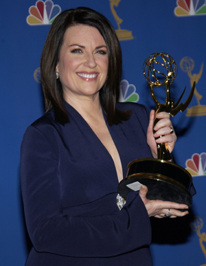 Emmy winner Megan Mullally