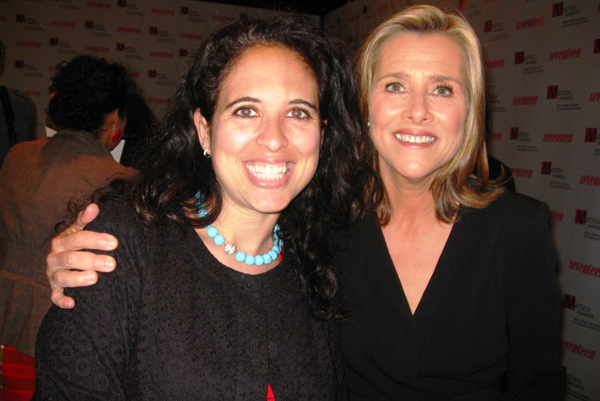 SheKnows Entertainment's Vicki Salemi and Today's Meredith Vieira