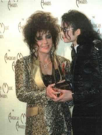 A Liz-less MJ memorial