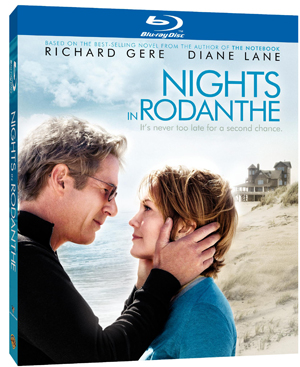 The Nights in Rodanthe DVD and Blu-ray, out now