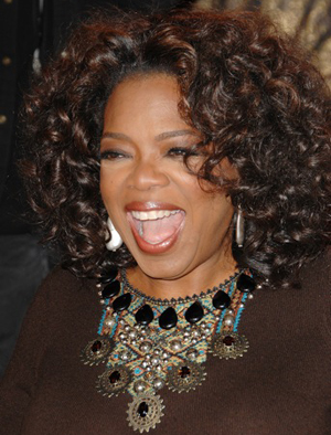 Oprah: PETA's person of the year