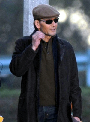 Patrick Swayze is hospitalized and missed a visit with SheKnows