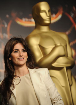 Penelope Cruz sits in Oscar's shadow