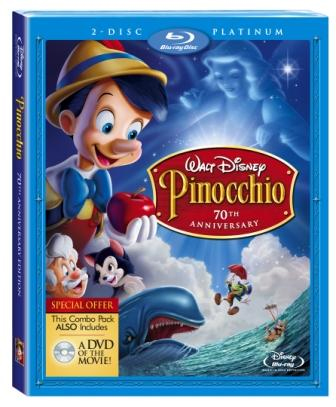 Pinocchio arrives on brilliant Blu-ray