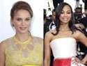 Natalie Portman & Zoe Saldana 'Lend A Hand' for charity