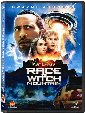 Race to Witch Mountain DVD rocks our house