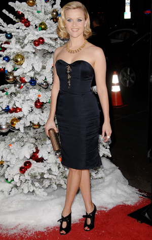 Reese Witherspoon at the Four Christmases premiere