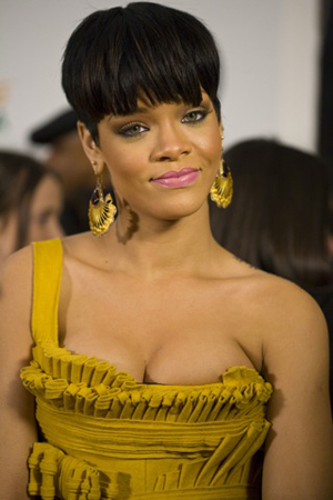 Rihanna in happier times