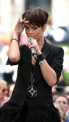 Rihanna has issued a statement on Chris Brown